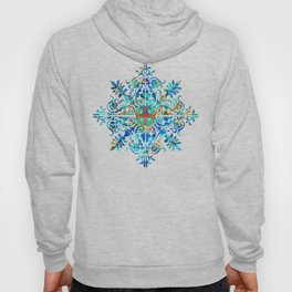 Colorful Pattern Art - Color Fusion Design 6 By Sharon Cummings Hoody