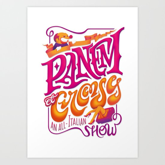 Panem et Circenses Art Print