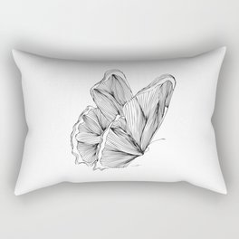 Butterfly Go Fly 2 Rectangular Pillow