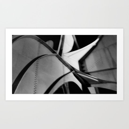 Off to the Races Art Print