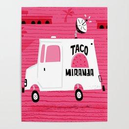 Taco Miranda Poster