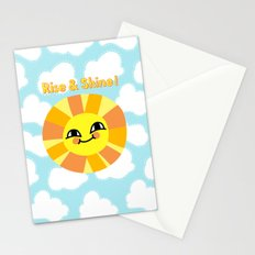Rise and Shine! Stationery Cards