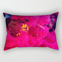 Pretty in Pink Crape Myrtle Rectangular Pillow
