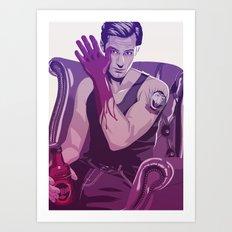 true Blood - Eric/Count Von Count Art Print