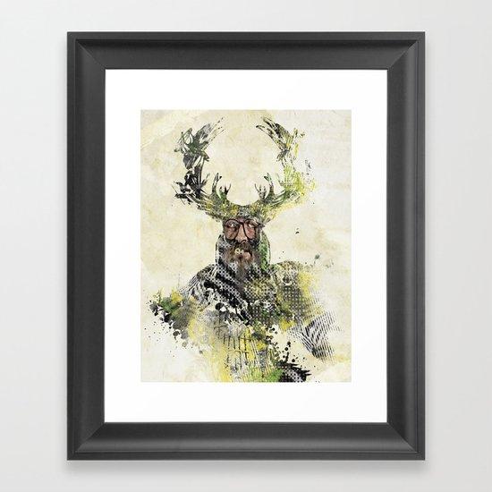 I'm The Source Framed Art Print