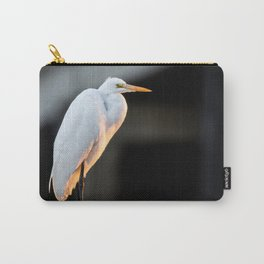 Great Egret at Sunset Carry-All Pouch