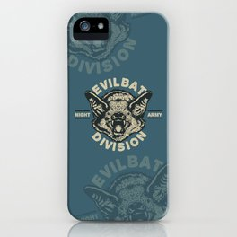 Evil Bat Division iPhone Case