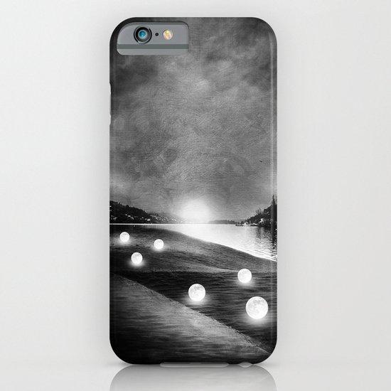 Field of lights (B&W) iPhone & iPod Case