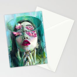 Refraction of the Spotless Mind Stationery Cards
