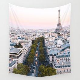 Paris City Wall Tapestry
