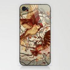 Honey & Sorrow (grey) iPhone & iPod Skin