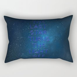 The last Star Rectangular Pillow