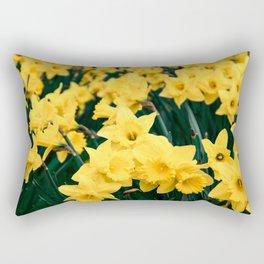 Bunch of daffodils Rectangular Pillow