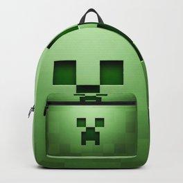 Mine craft face Backpack