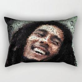 Homage to Marley Rectangular Pillow