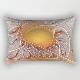 Temperament, Abstract Fractal Art Rectangular Pillow