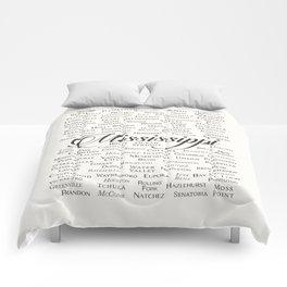 Mississippi Comforters