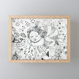 Sweet Dreams by Ines Zgonc Framed Mini Art Print