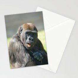 Happy Gorilla Lope Stationery Cards