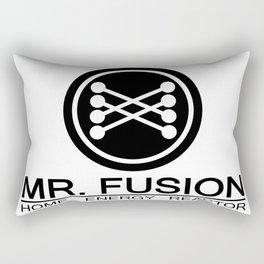 Mr. Fusion Home Energy Reactor Logo Artwork For Prints, Posters, Tshirts, Bags, Men, Women, Kids Rectangular Pillow