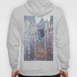 Claude Monet Rouen Cathedral, West Façade Hoody