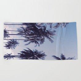 Palm trees 2 Beach Towel
