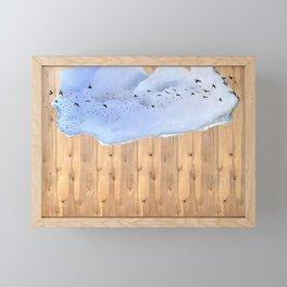 The Silver Lining Framed Mini Art Print