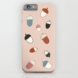 Every oak tree started out as an acorn iPhone Case
