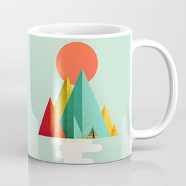 Little Geometric Tipi Coffee Mug