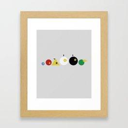 Angry Less Framed Art Print