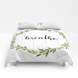 Just Breathe Comforters