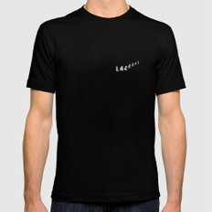 Lazy Mens Fitted Tee Black MEDIUM