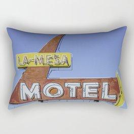 La-Mesa Motel Rectangular Pillow