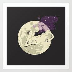 Full Moon #2 Art Print