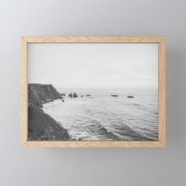 CALIFORNIA COAST Framed Mini Art Print