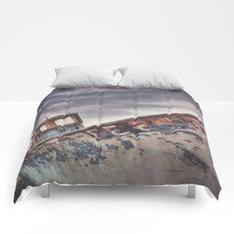 dungeness sunrise / england Comforters