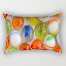 Group of Marbles Rectangular Pillow
