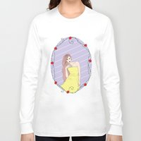 belle Long Sleeve T-shirts featuring Belle by Anca Avram