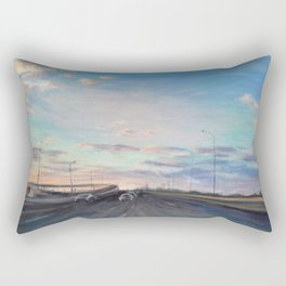 The way home_State Route 1 Rectangular Pillow