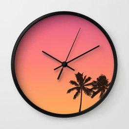 Hot Summer Mood Wall Clock