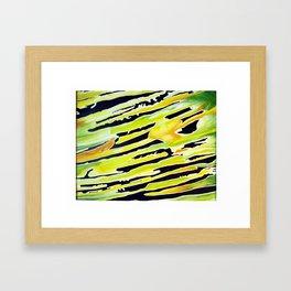 Jungle Lightspeed Framed Art Print