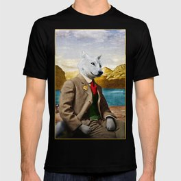 Mr. Wolf Relaxing at the Lake T-shirt