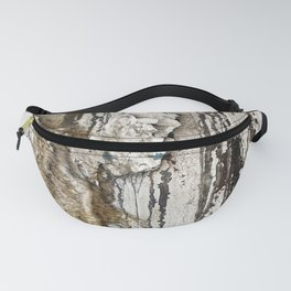 White Decay II Fanny Pack