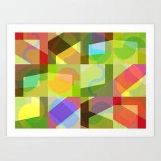 Colorful Truth. Shuffle 1 Art Print