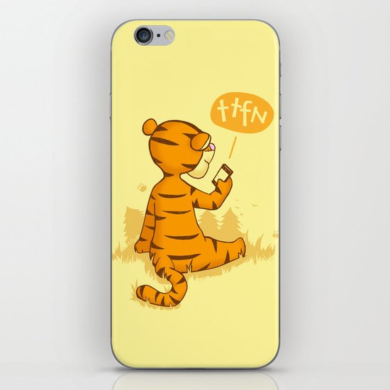 Ta Ta For Now iPhone & iPod Skin
