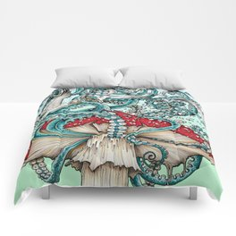 Flying the Agaric Comforters