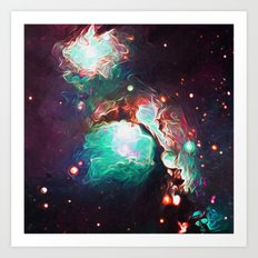 Blended Space Art Print