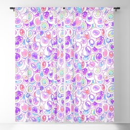 Kawaii Balls Blackout Curtain