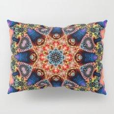 BBQSHOES: Kaleidoscopic Fractal Digital Art Design 1702K Pillow Sham