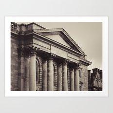 Trinity Architecture Art Print